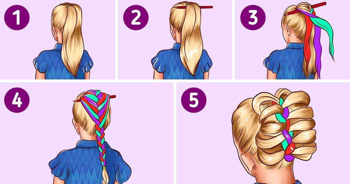 Cómo hacer peinados para la escuela en 5 minutos