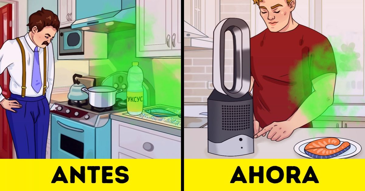 Cómo deshacerse de un olor desagradable en un departamento