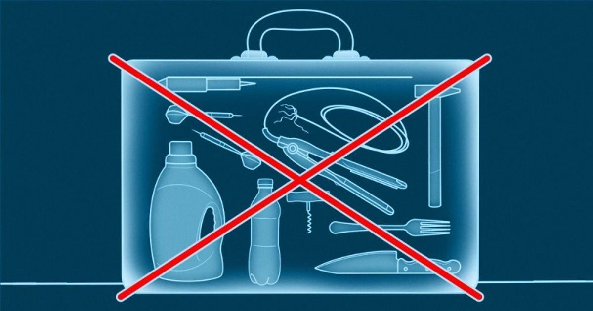 Qué se puede y qué no se puede llevar en el equipaje de mano