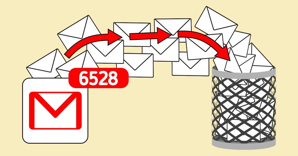 Cómo limpiar tu correo electrónico