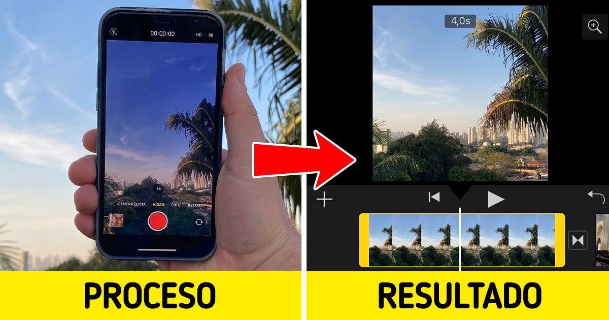 Cómo crear una película en tu iPhone