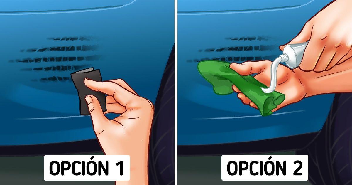 Cómo remover los rayones del coche